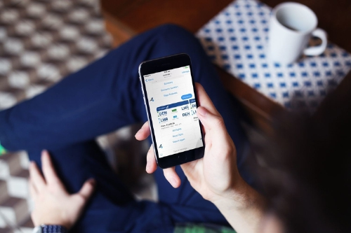 Icelandair offers flight bookings through Facebook Messenger. (PRNewsFoto/Icelandair)